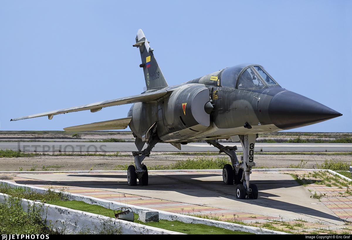 FAE809 - Dassault Mirage F1JA - Ecuador - Air Force