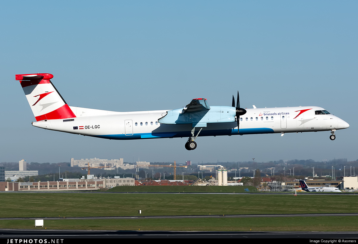 OE-LGC - Bombardier Dash 8-Q402 - Brussels Airlines (Austrian Airlines)