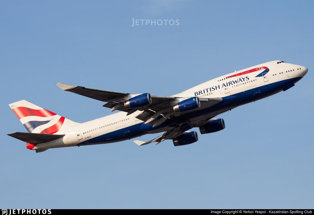 G-BNLE - Boeing 747-436 - British Airways