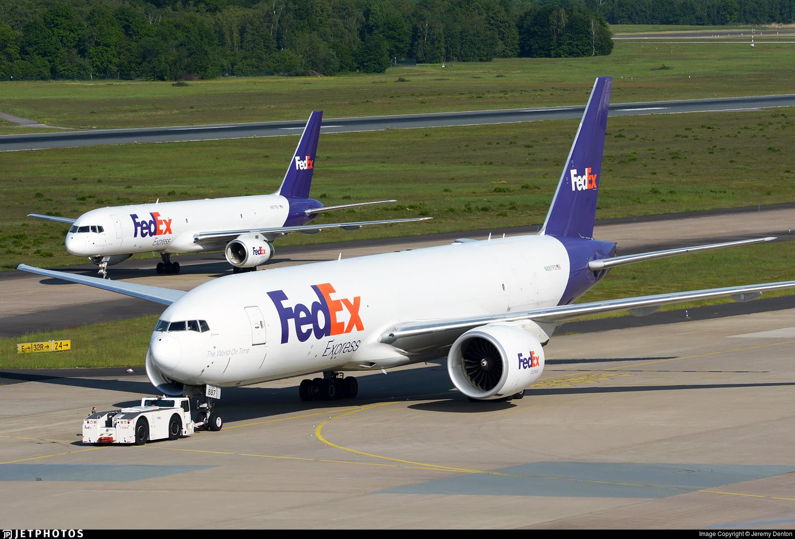 N887FD - Boeing 777-FS2 - FedEx