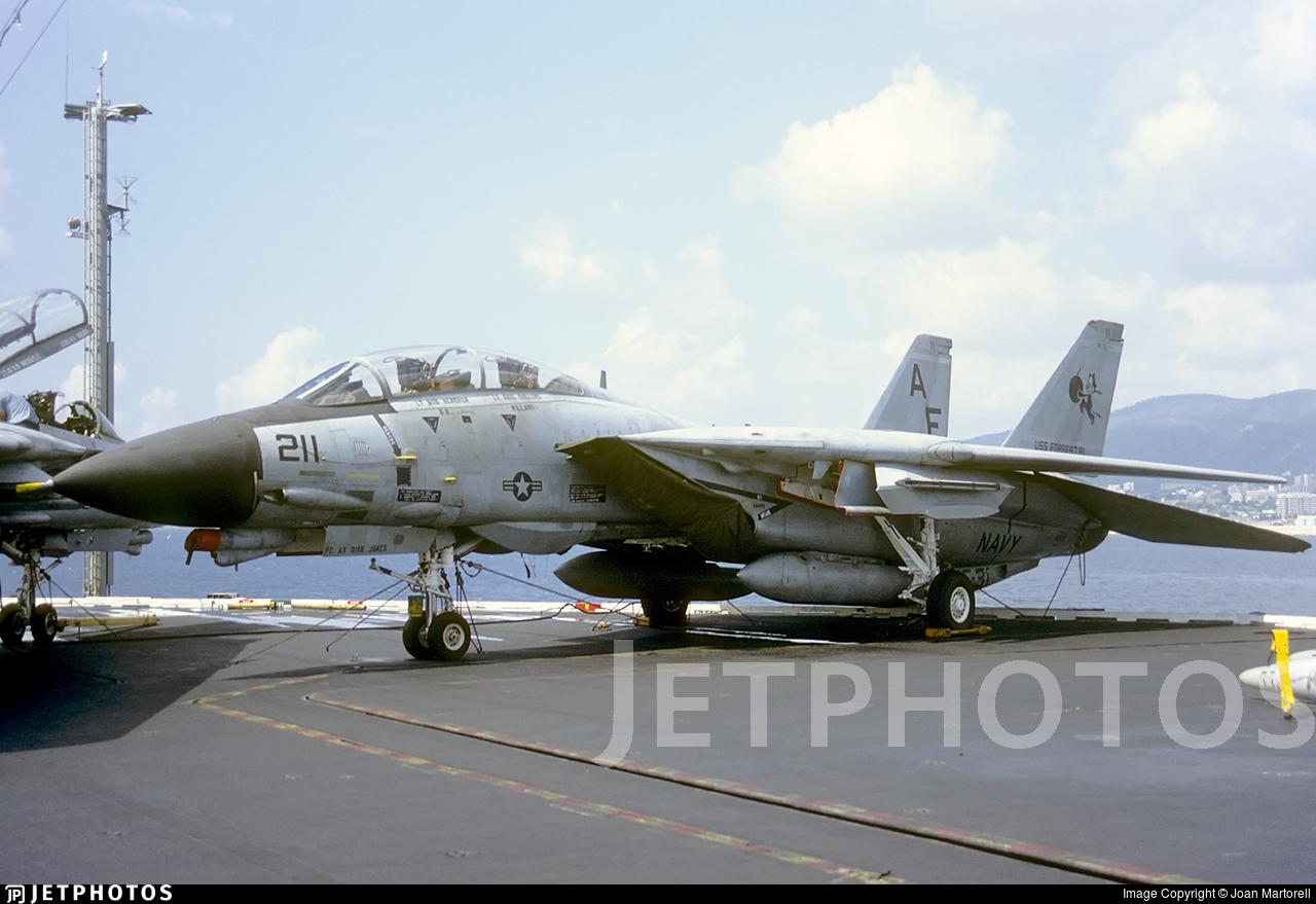 161852 - Grumman F-14A Tomcat - United States - US Navy (USN)