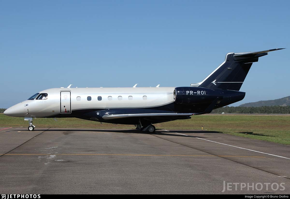 PR-ROI - Embraer EMB-550 Legacy 500 - Private