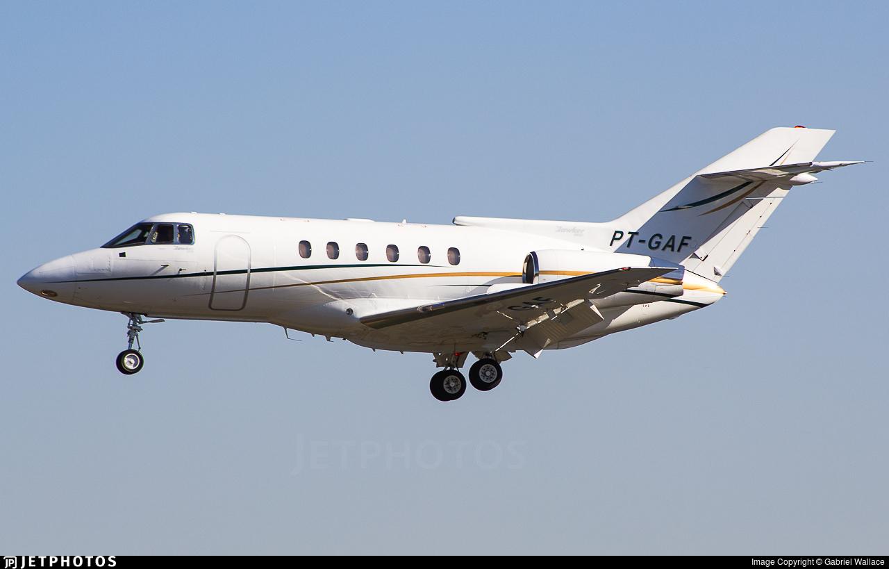 PT-GAF - British Aerospace BAe 125-800B - Private