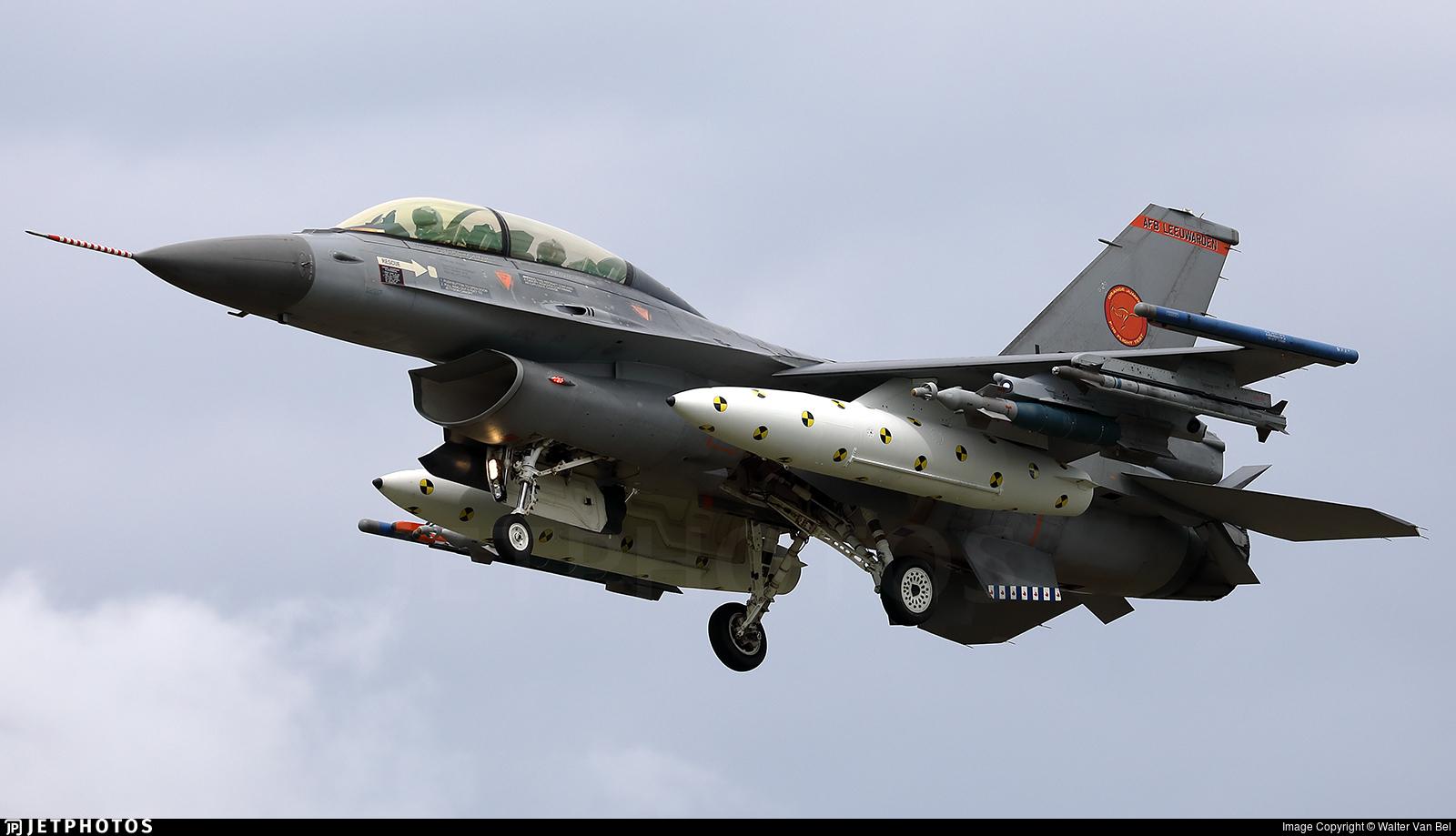 J-066 - General Dynamics F-16BM Fighting Falcon - Netherlands - Royal Air Force