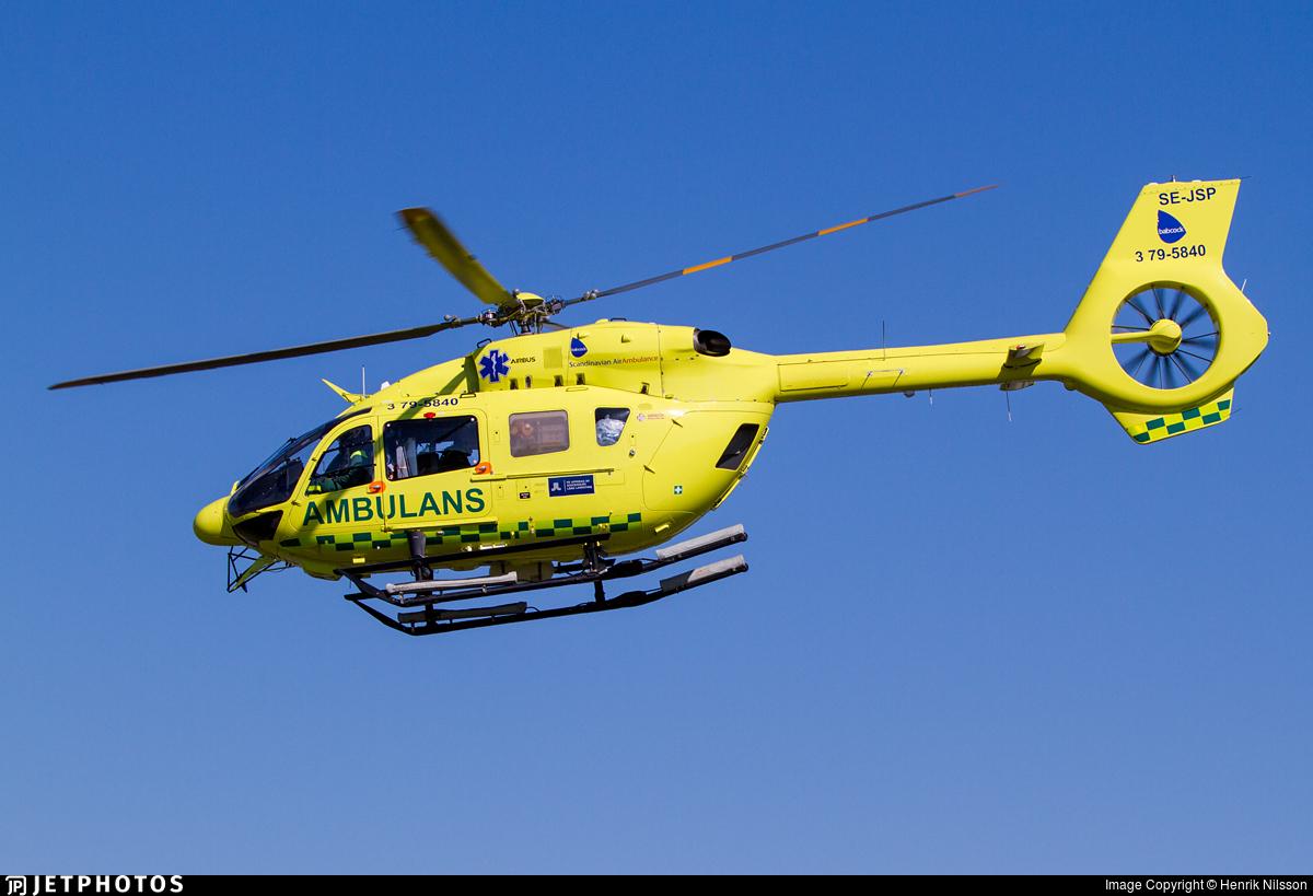 SE-JSP - Airbus Helicopters H145 - Babcock Scandinavian AirAmbulance