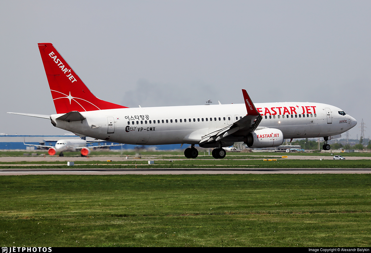 VP-CMX - Boeing 737-86J - Eastar Jet