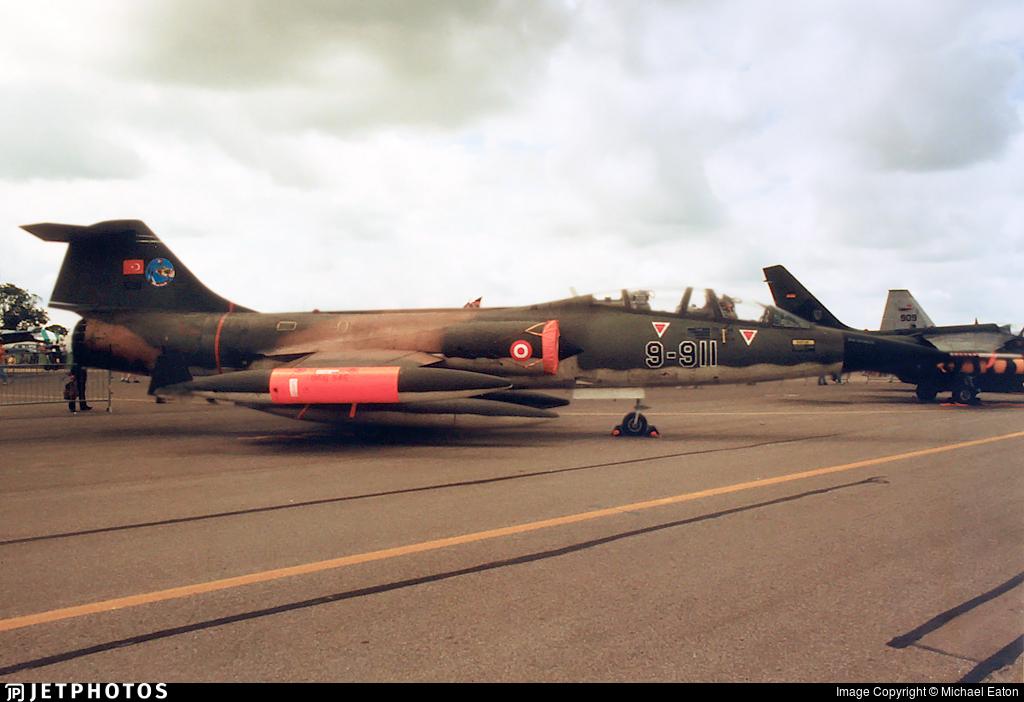 65-5911 - Lockheed TF-104G Starfighter - Turkey - Air Force
