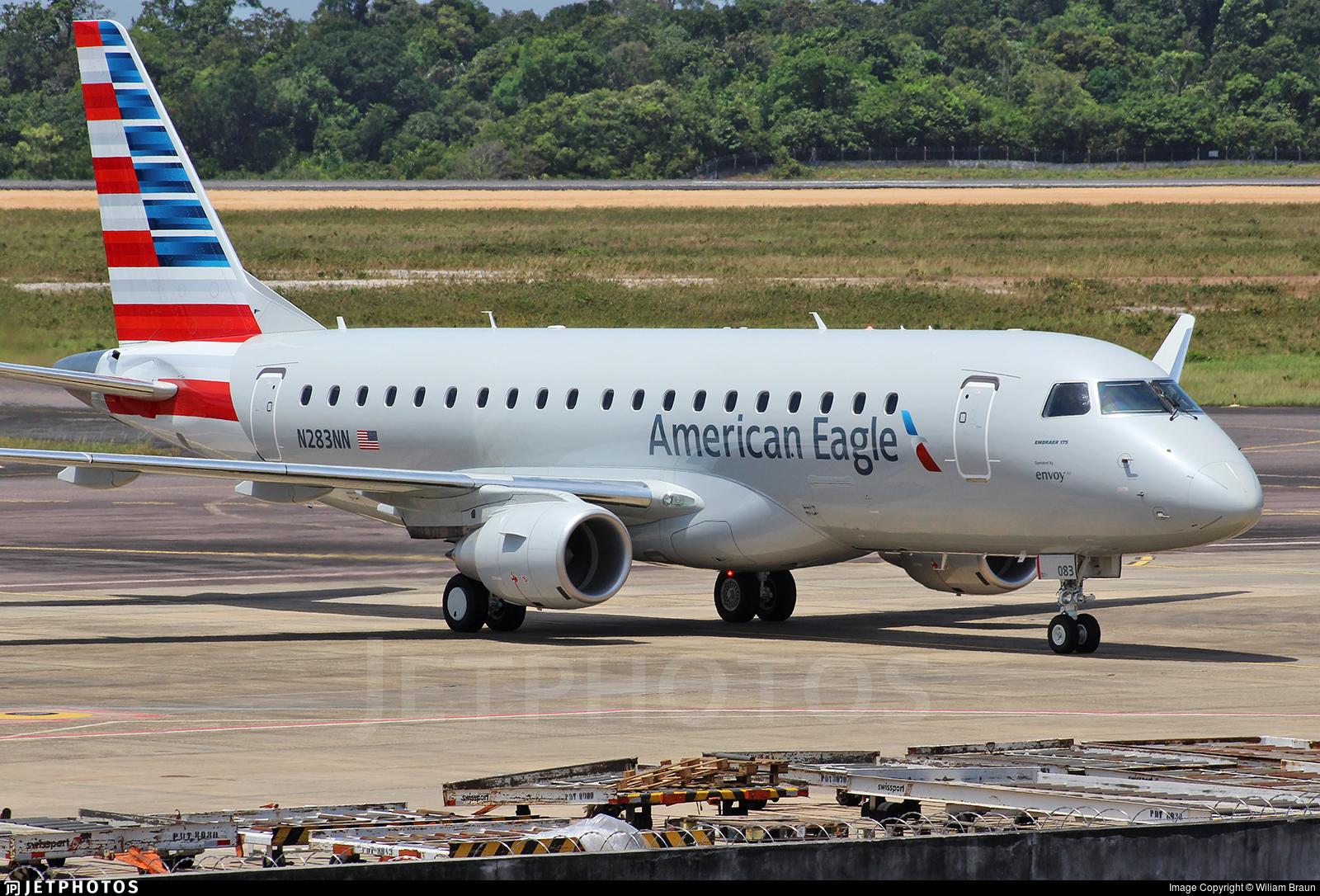 N283NN - Embraer 170-200LR - American Eagle (Envoy Air)