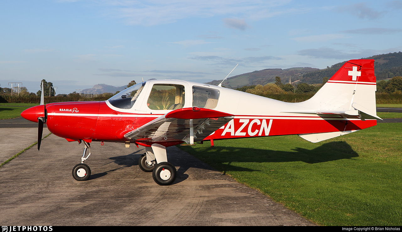 G-AZCN - Beagle B121 Pup - Private