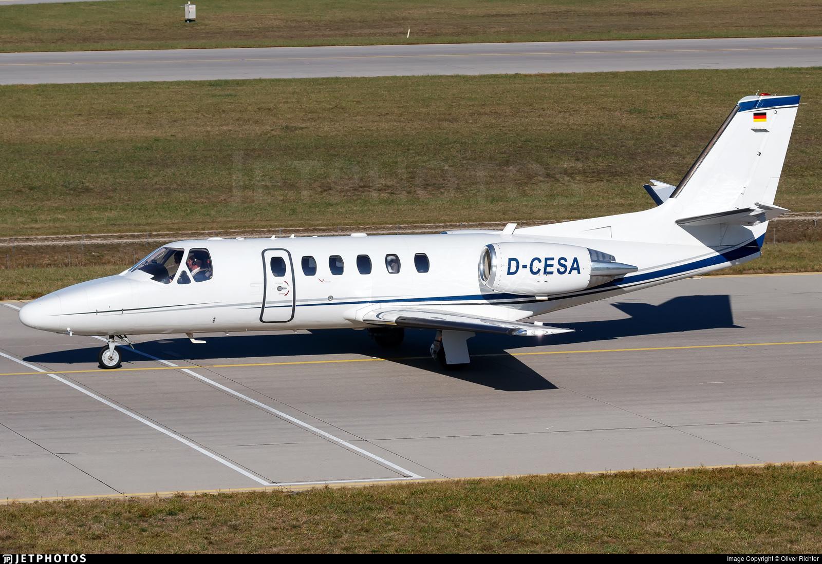 D-CESA - Cessna 550B Citation Bravo - Euro Link