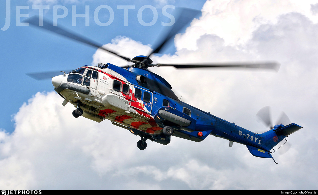 B-70Y1 - Eurocopter EC 225LP Super Puma II+ - China Offshore Helicopter Service Corporation (COHC)
