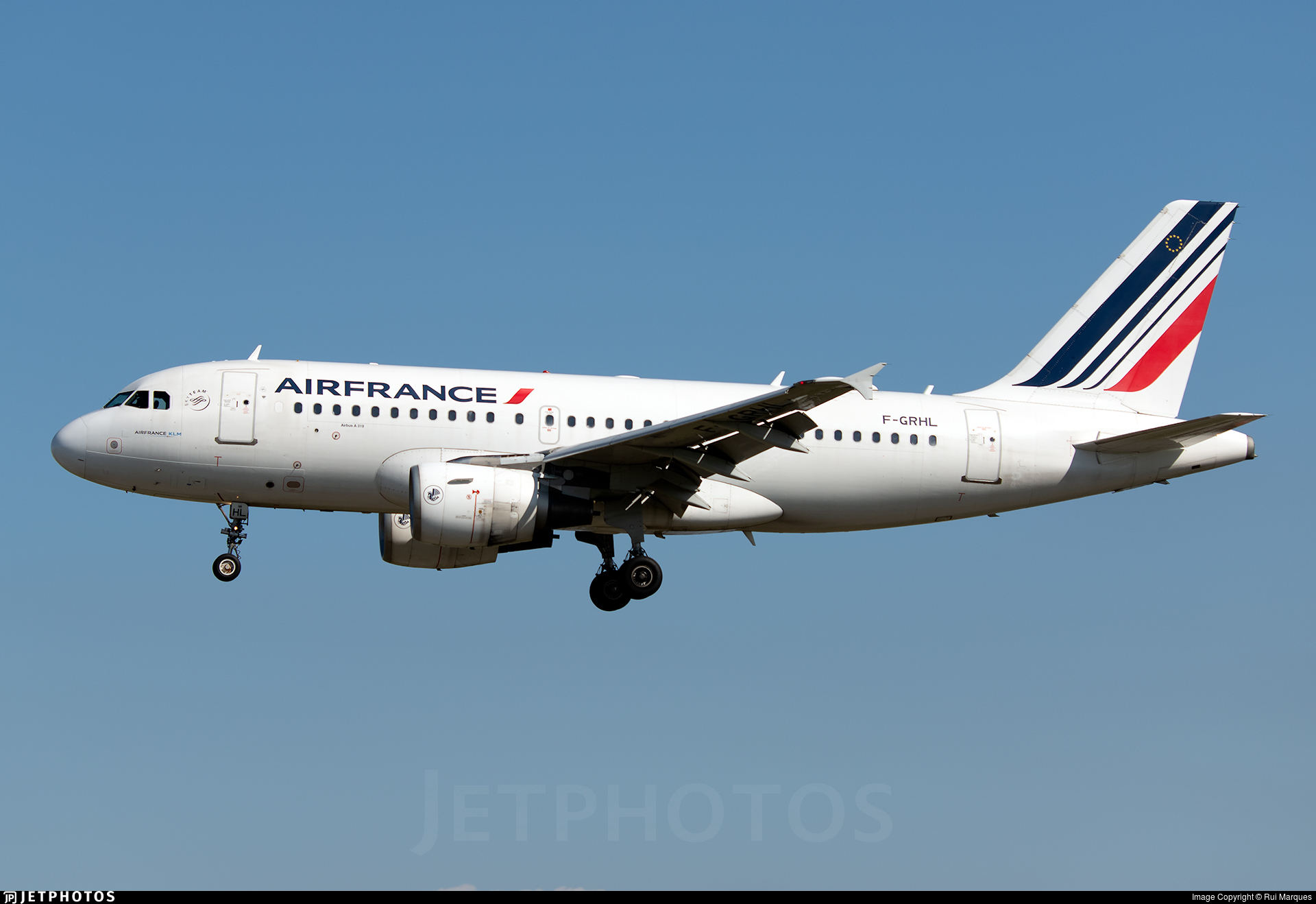 F-GRHL - Airbus A319-111 - Air France