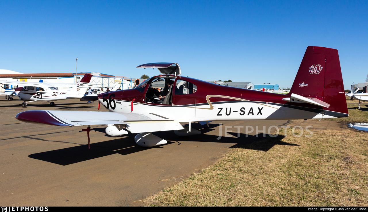 ZU-SAX - Vans RV-10 - Private