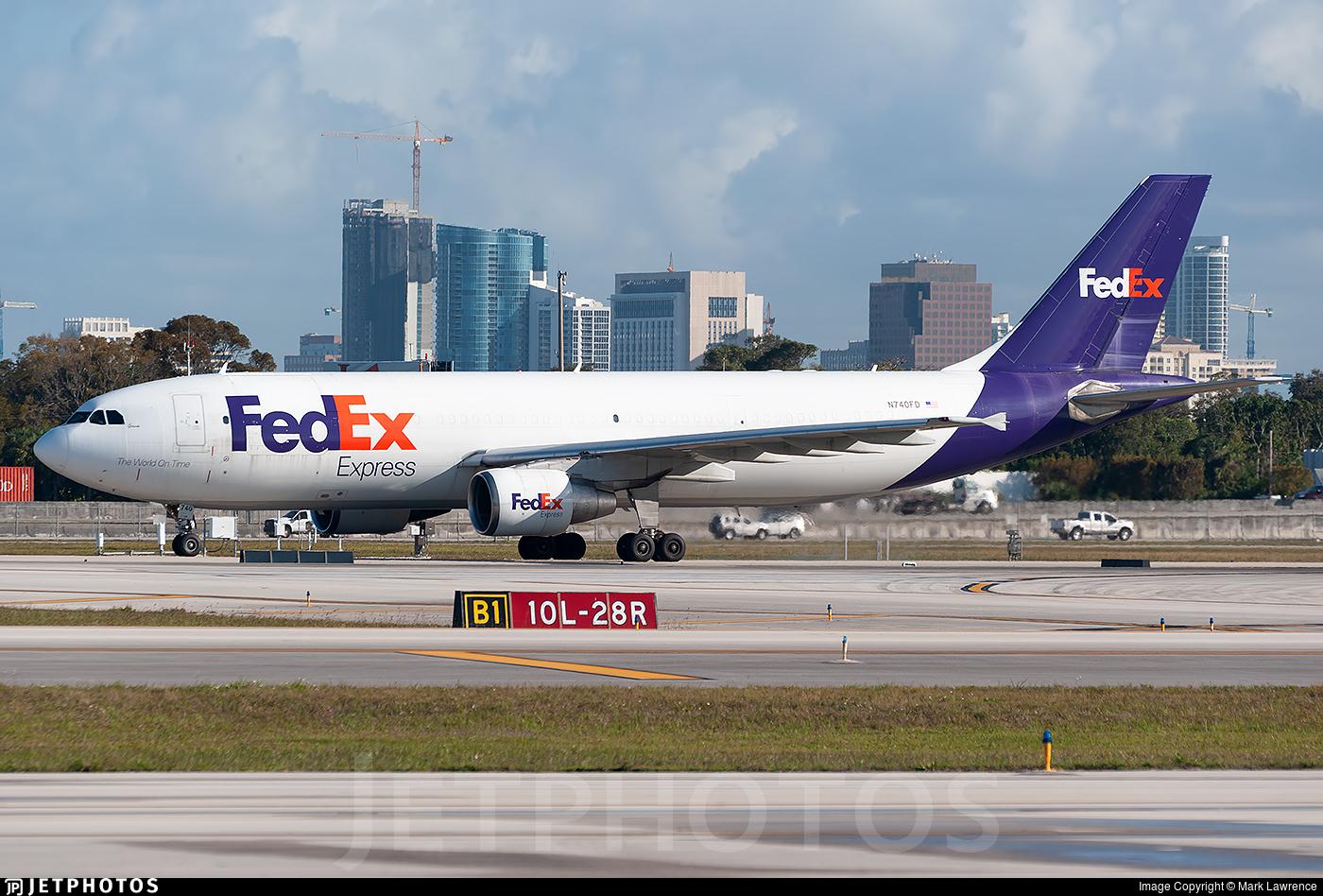N740FD - Airbus A300B4-622R(F) - FedEx