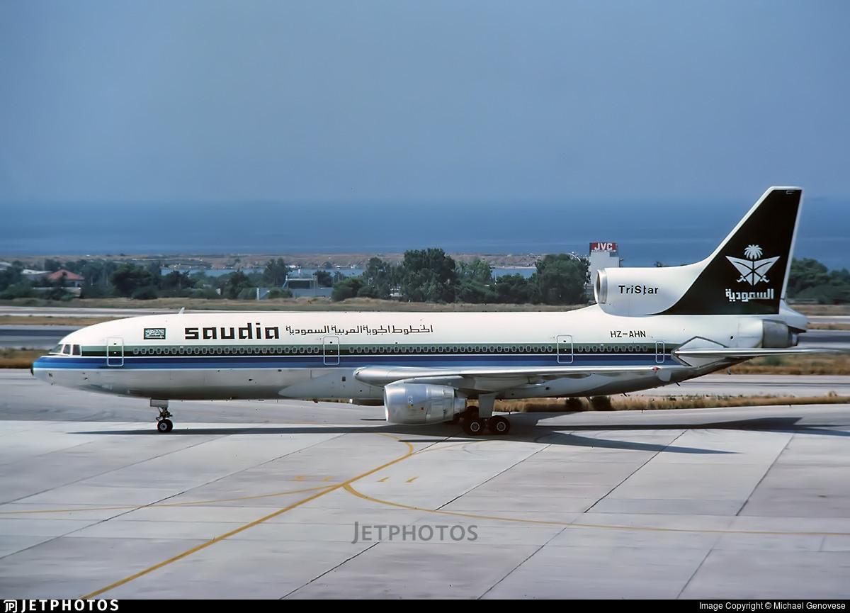 HZ-AHN - Lockheed L-1011-200 Tristar - Saudi Arabian Airlines