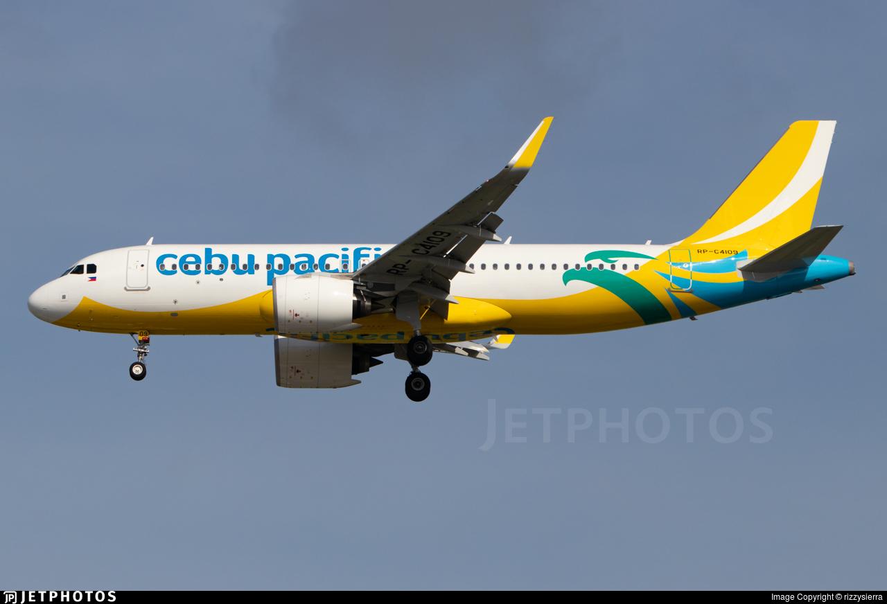 RP-C4109 - Airbus A320-271N - Cebu Pacific Air