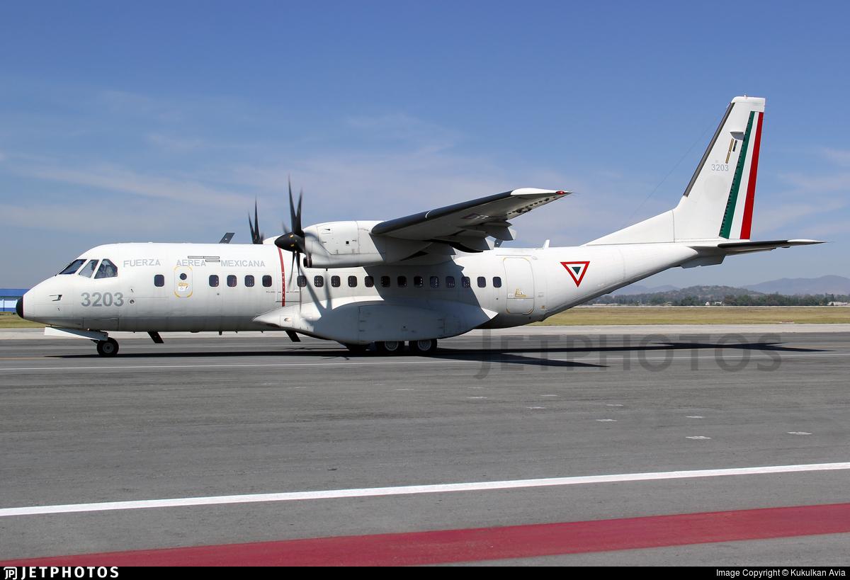 3203 - CASA C-295M - Mexico - Air Force
