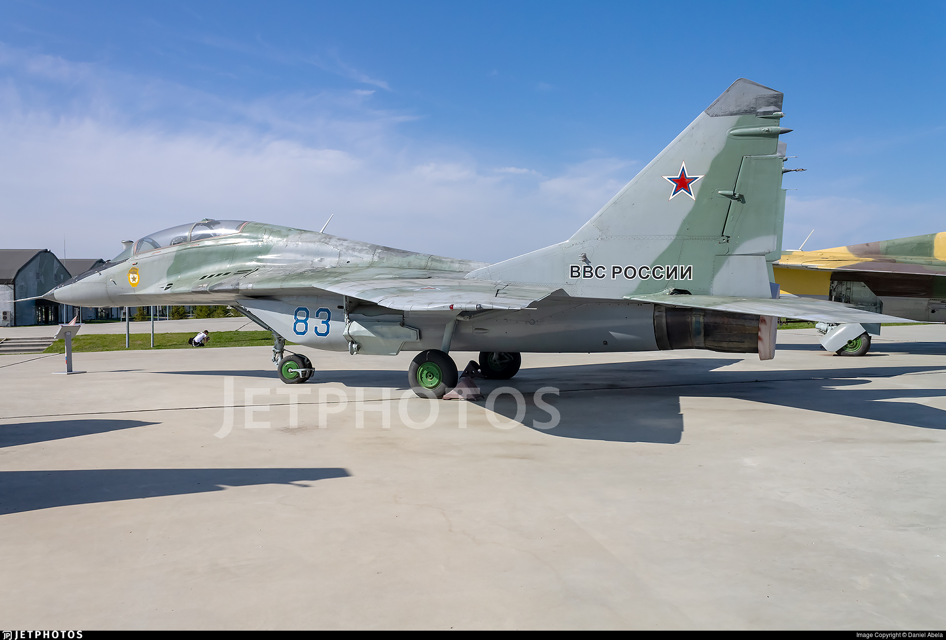 83 - Mikoyan-Gurevich MiG-29UB Fulcrum - Russia - Air Force