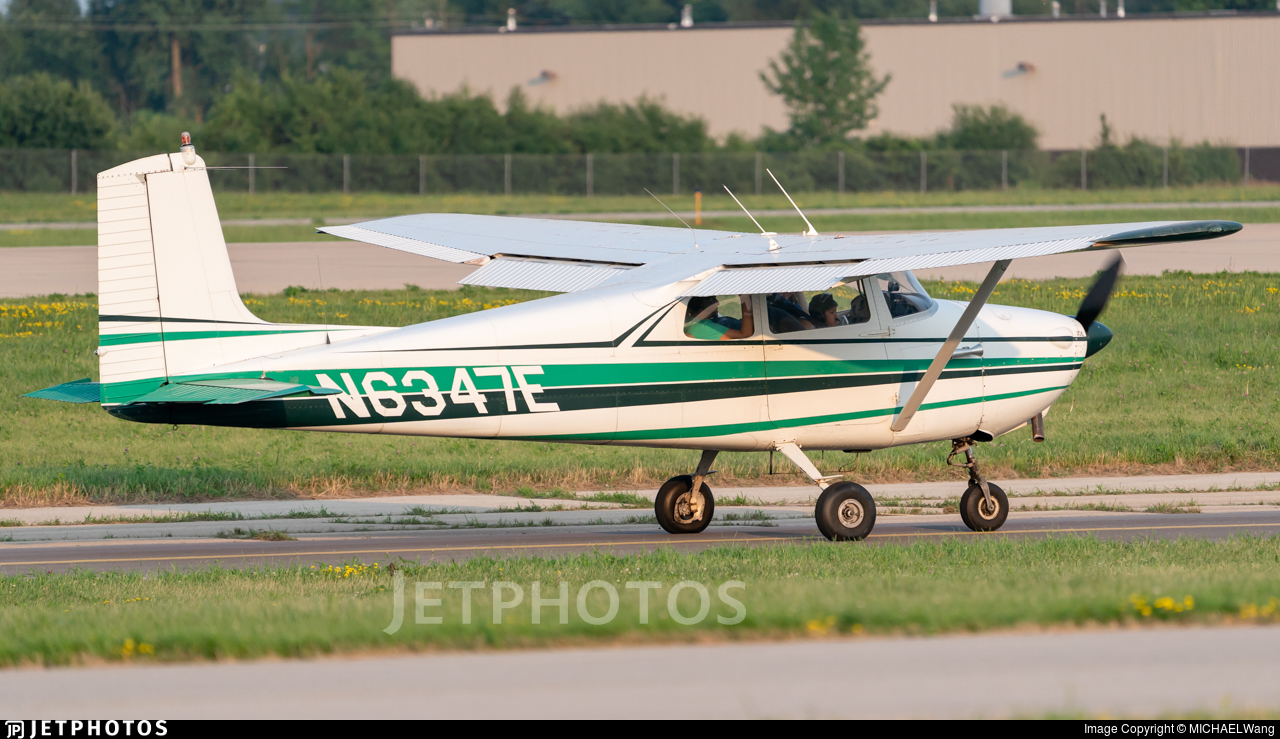 N6347E - Cessna 172 Skyhawk - Private