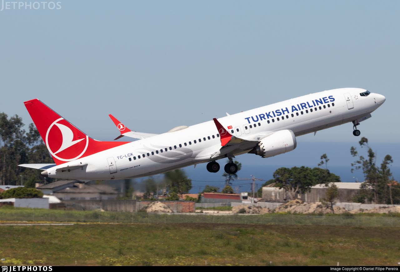 TC-LCK - Boeing 737-8 MAX - Turkish Airlines