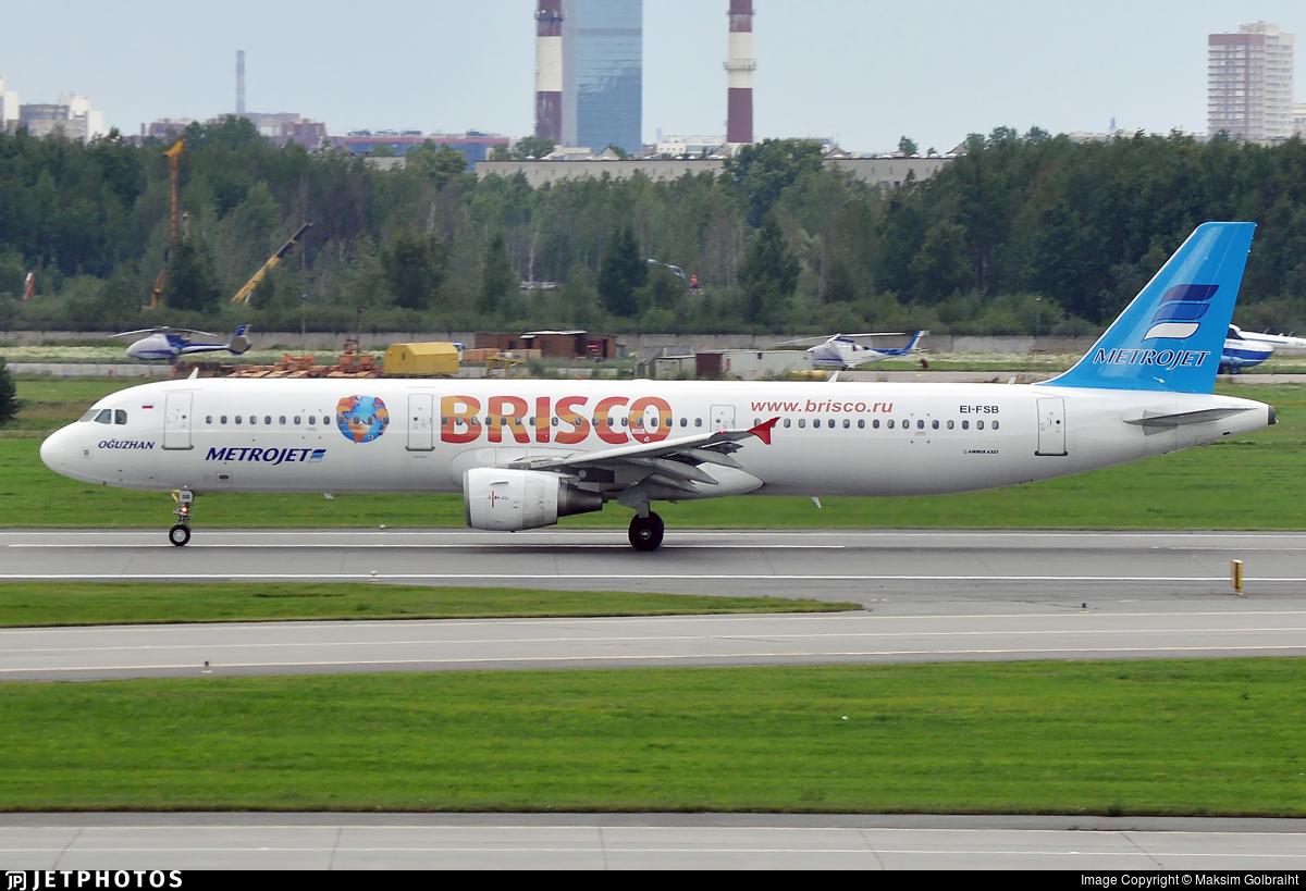 EI-FSB - Airbus A321-211 - MetroJet