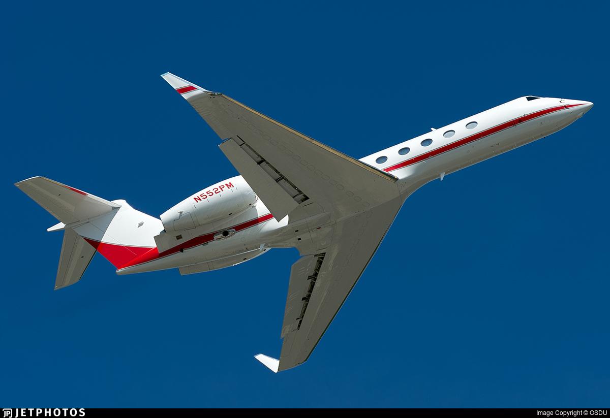 N552PM - Gulfstream G550 - Private