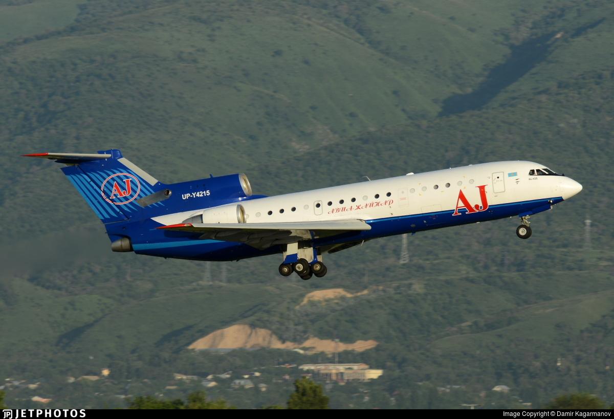 UP-Y4215 - Yakovlev Yak-42D - Avia Jaynar