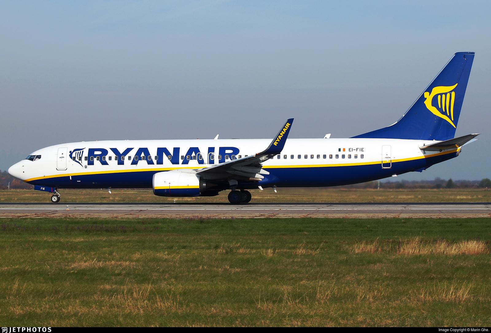 EI-FIE - Boeing 737-8AS - Ryanair