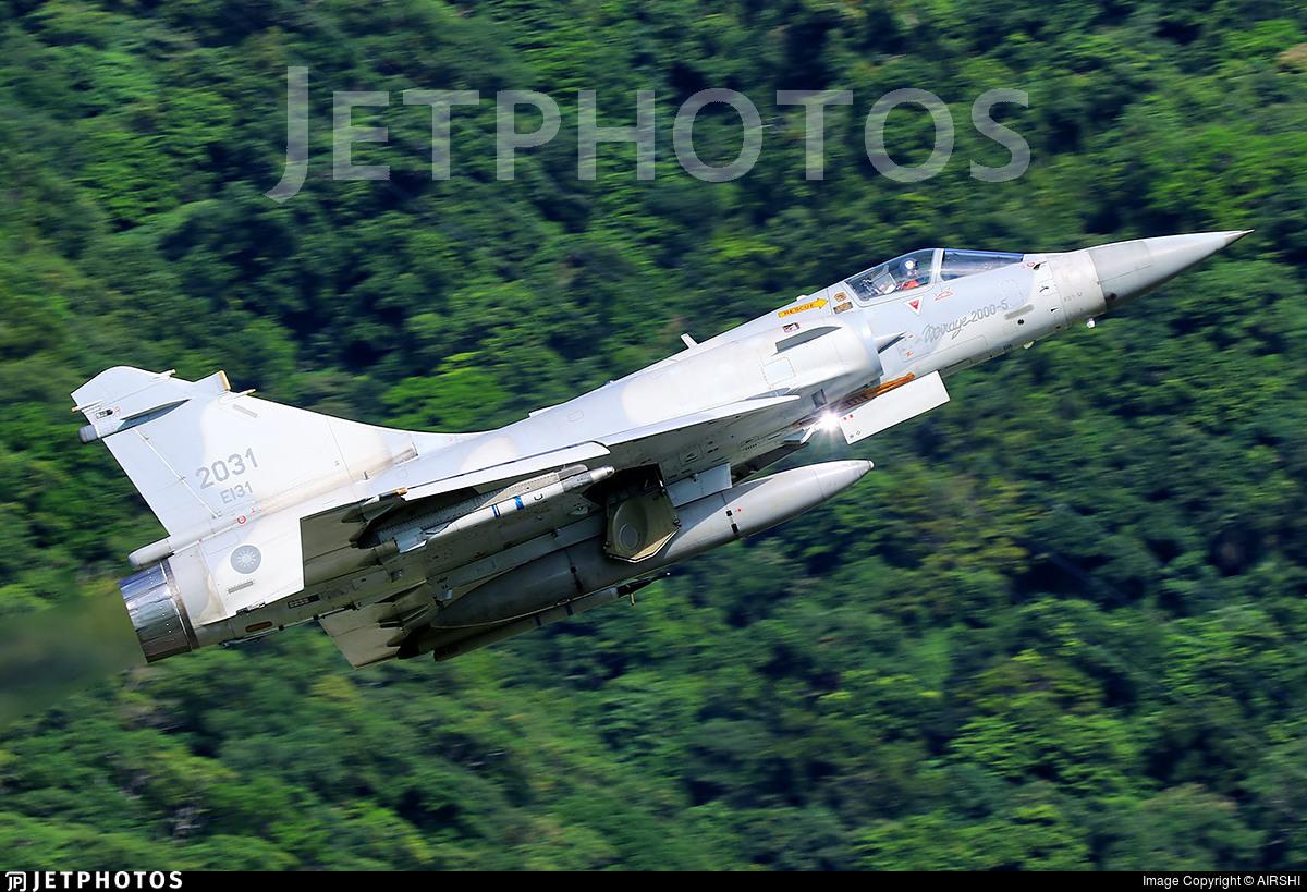 2031 - Dassault Mirage 2000-5EI - Taiwan - Air Force