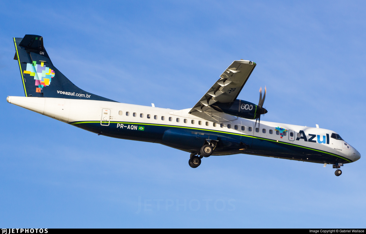 PR-AQN - ATR 72-212A(600) - Azul Linhas Aéreas Brasileiras