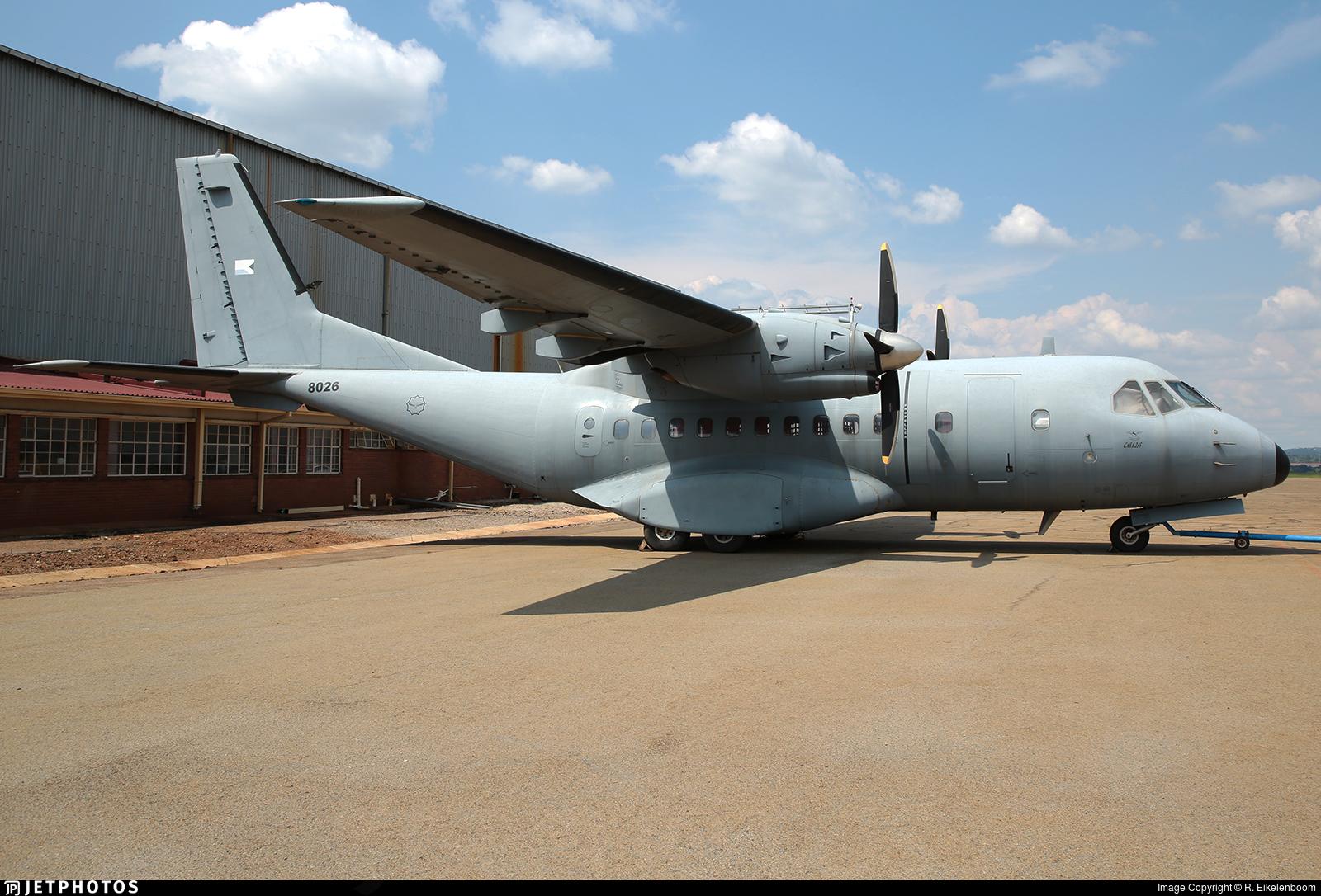 8026 - CASA CN-235-10 - South Africa - Air Force