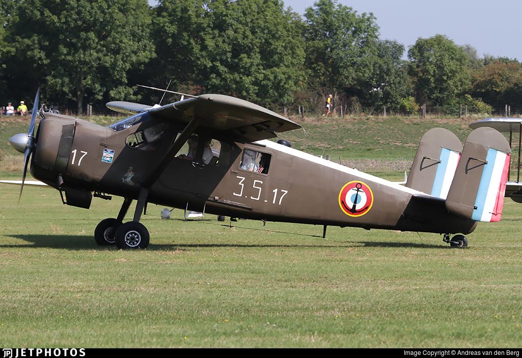 F-GJJM - Max Holste MH-1521 Broussard - Private
