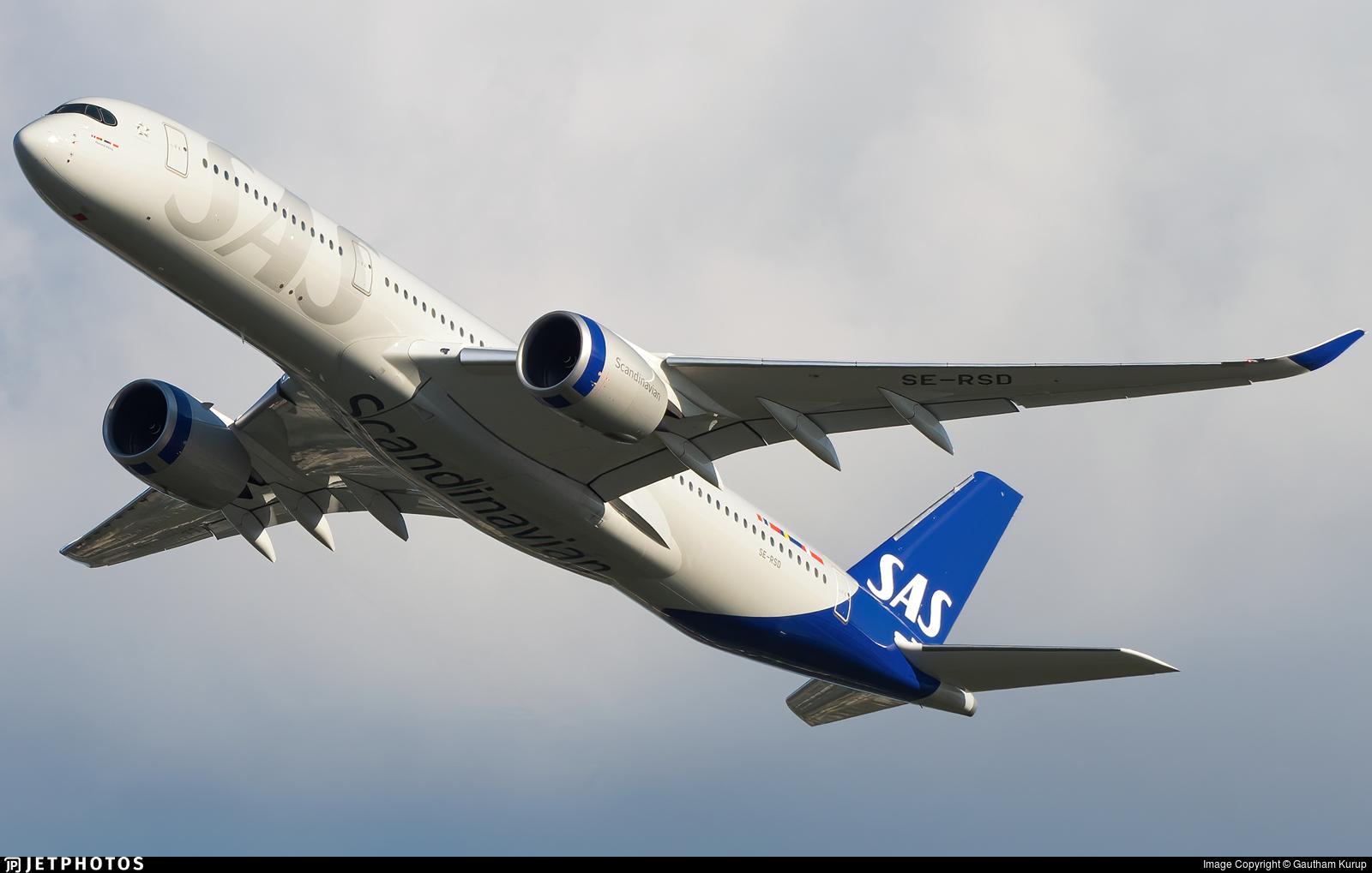 SE-RSD - Airbus A350-941 - Scandinavian Airlines (SAS)