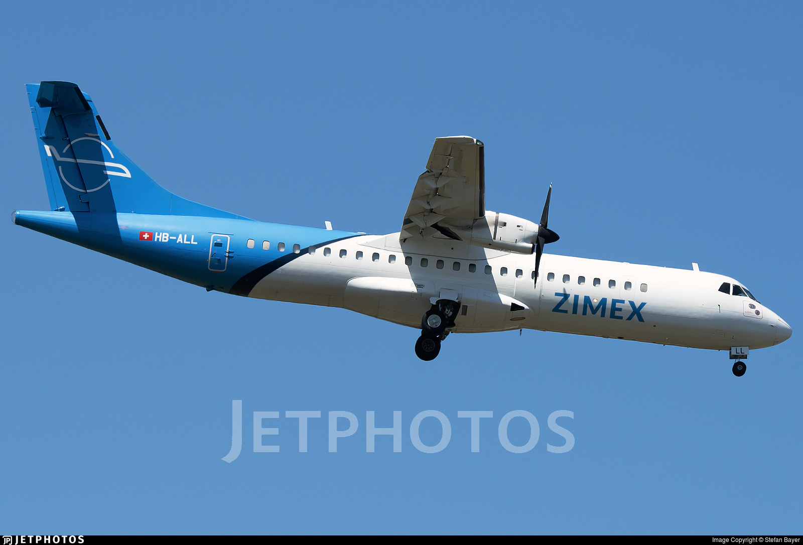 HB-ALL - ATR 72-202(F) - Zimex Aviation