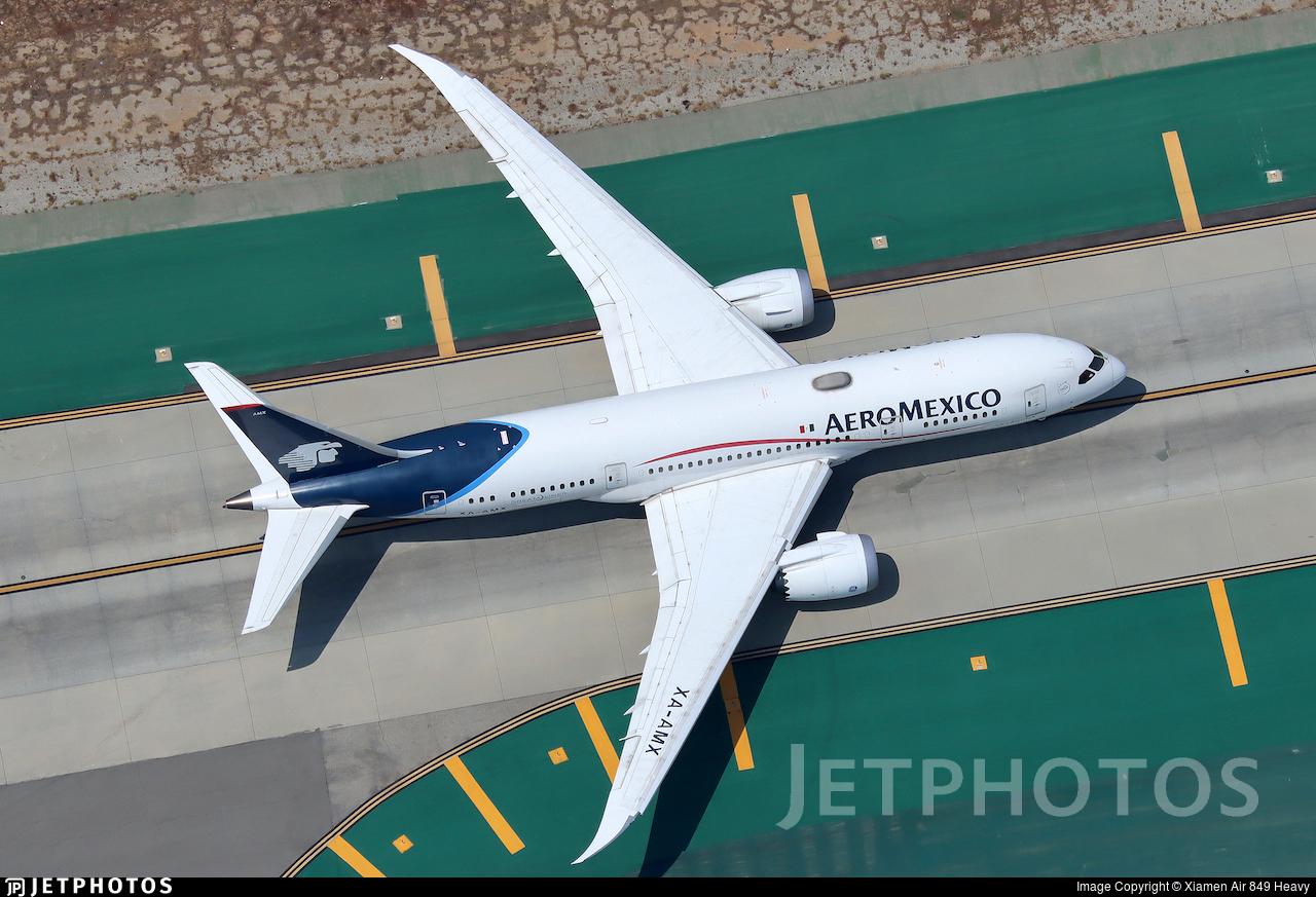 XA-AMX - Boeing 787-8 Dreamliner - Aeromexico