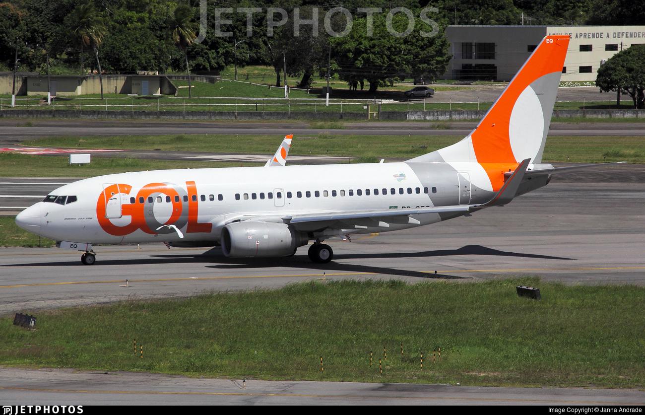 PR-GEQ - Boeing 737-7K5 - GOL Linhas A�reas