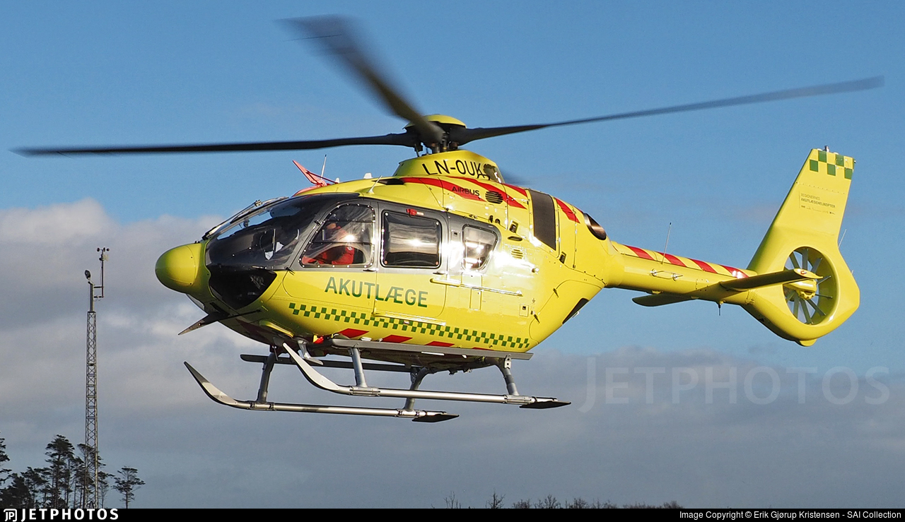 LN-OUK - Airbus Helicopters H135 - Nordic Air Ambulance
