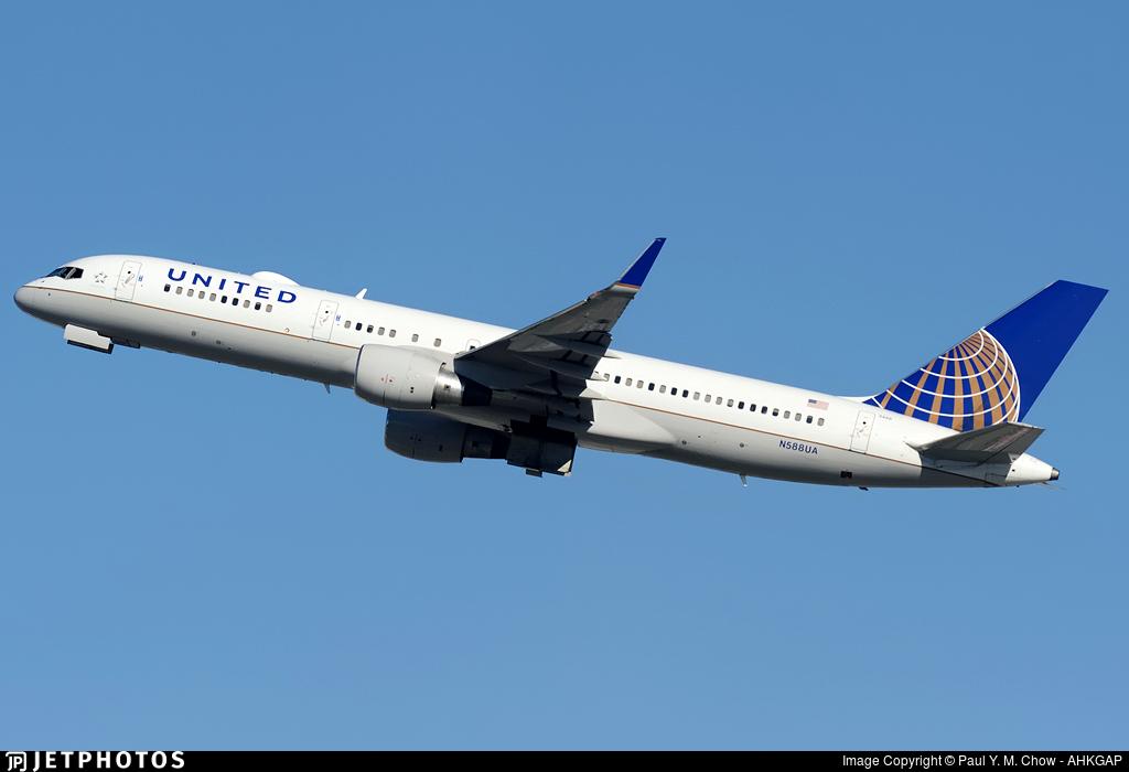 N588UA - Boeing 757-222 - United Airlines