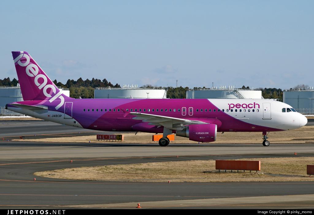 JA813P - Airbus A320-214 - Peach Aviation