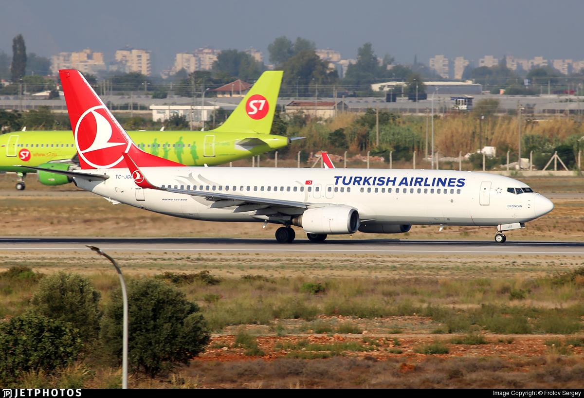 TC-JGG - Boeing 737-8F2 - Turkish Airlines