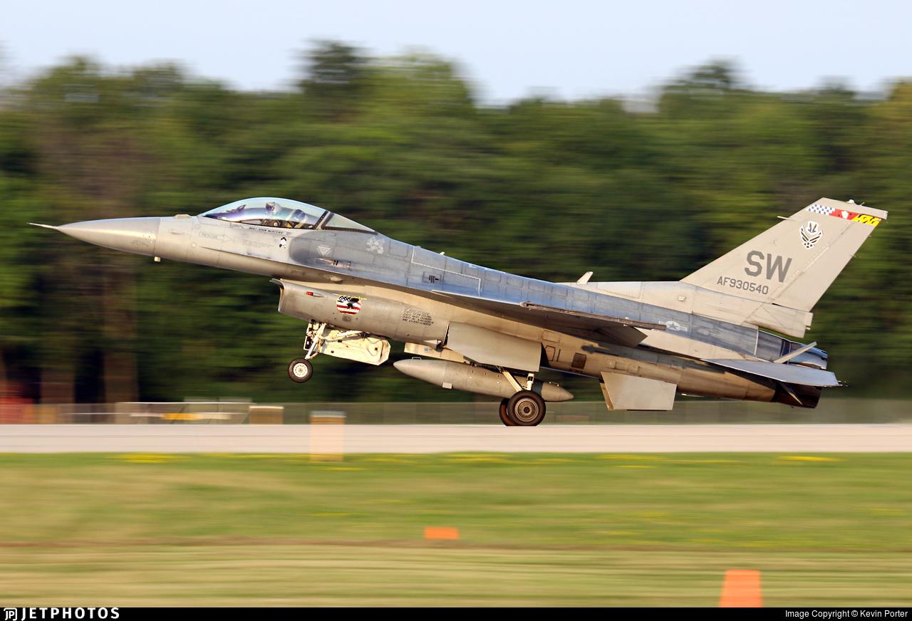 93-0540 - Lockheed Martin F-16CJ Fighting Falcon - United States - US Air Force (USAF)