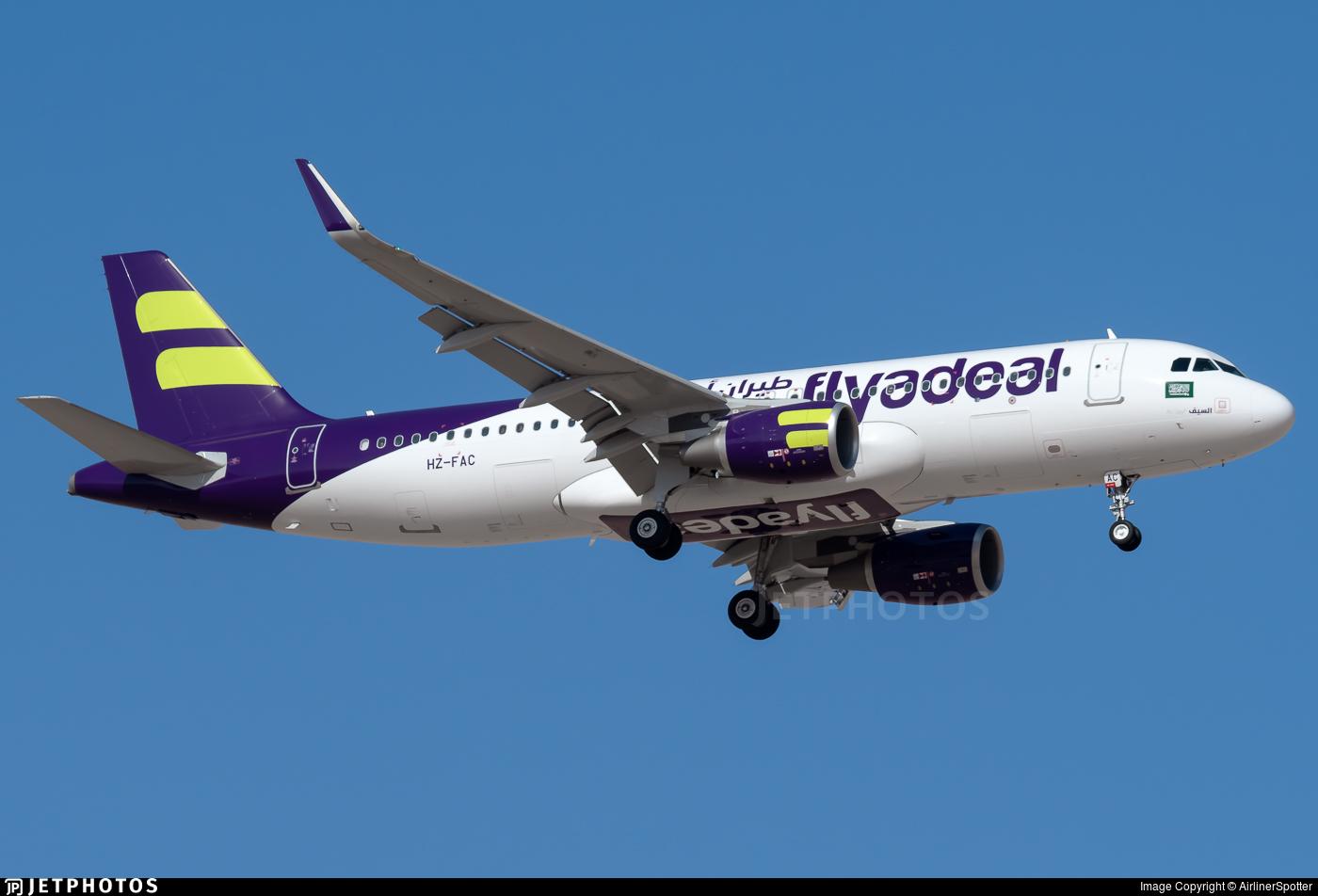 HZ-FAC - Airbus A320-214 - Flyadeal