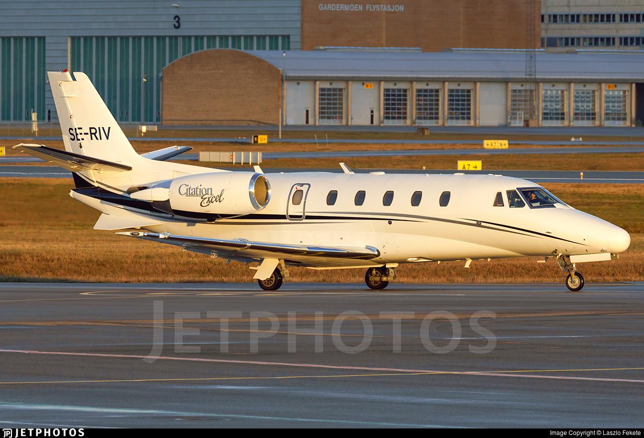 SE-RIV - Cessna 560XL Citation Excel - H-Bird Aviation Services