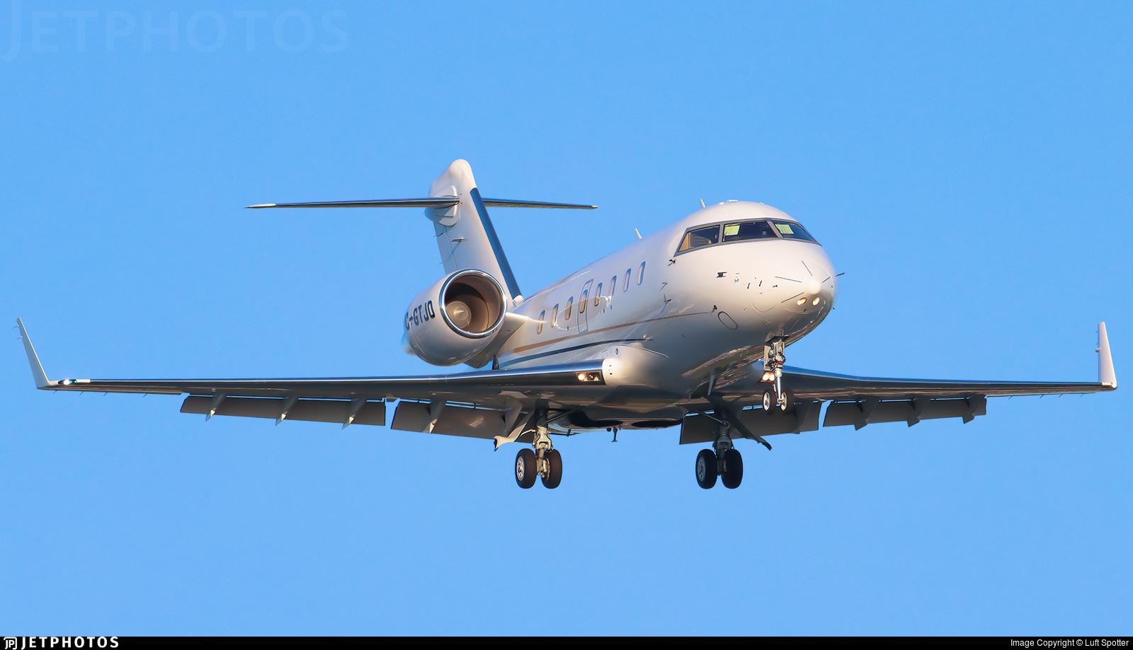 C-GTJO - Bombardier CL-600-2B16 Challenger 605 - Private