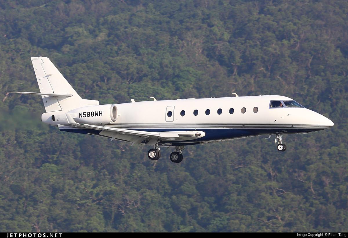 N588WH - Gulfstream G200 - Private