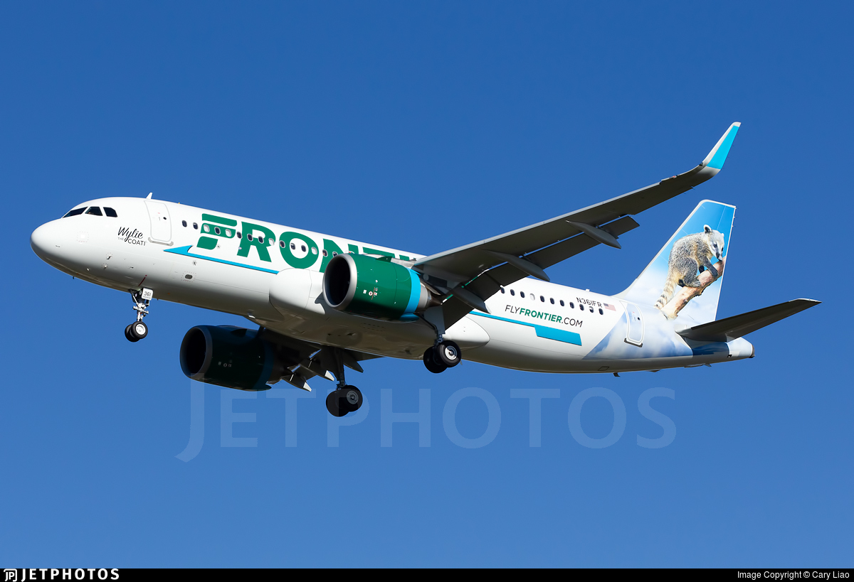 N361FR - Airbus A320-251N - Frontier Airlines