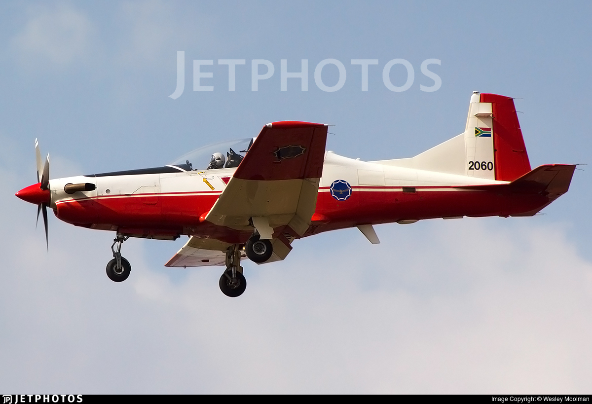 2060 - Pilatus PC-7 Mk.II - South Africa - Air Force
