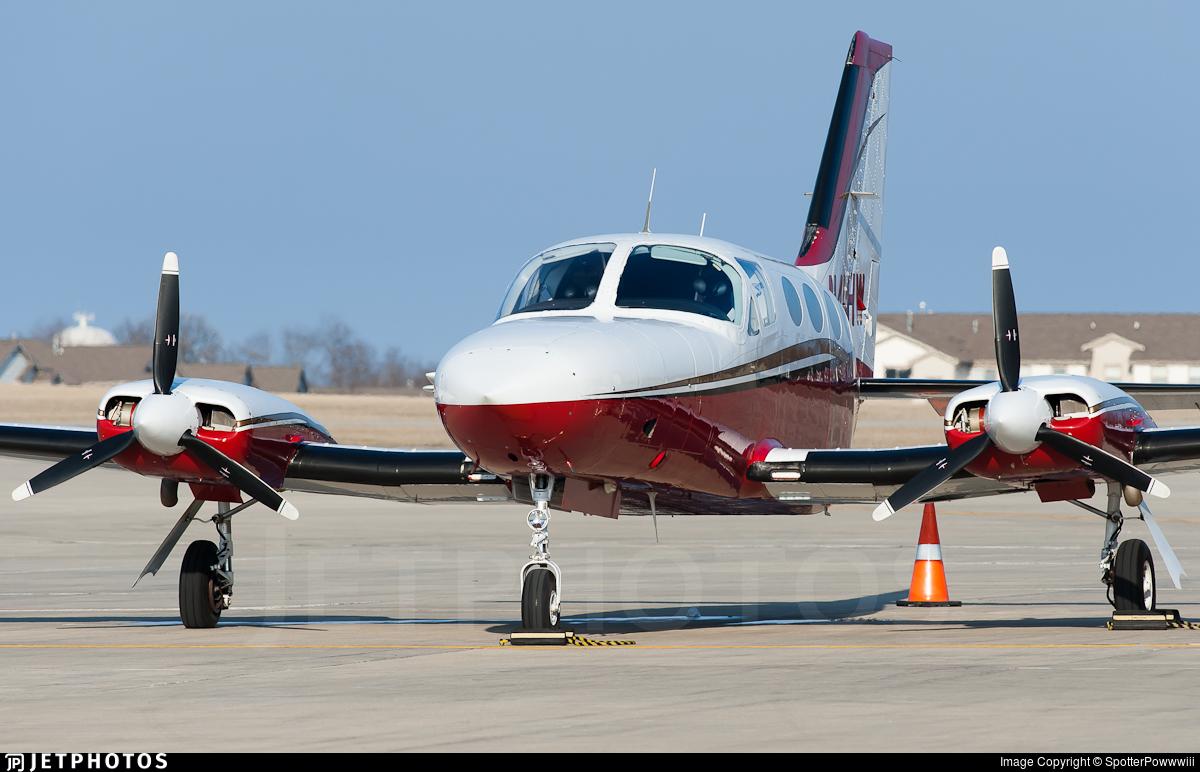 N414HW - Cessna 414A Chancellor - Private
