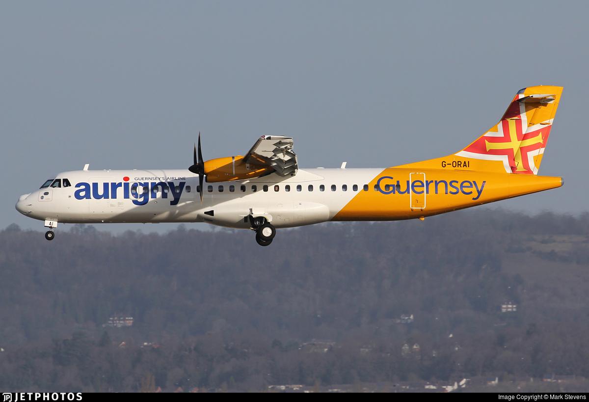 G-ORAI - ATR 72-212A(600) - Aurigny Air Services
