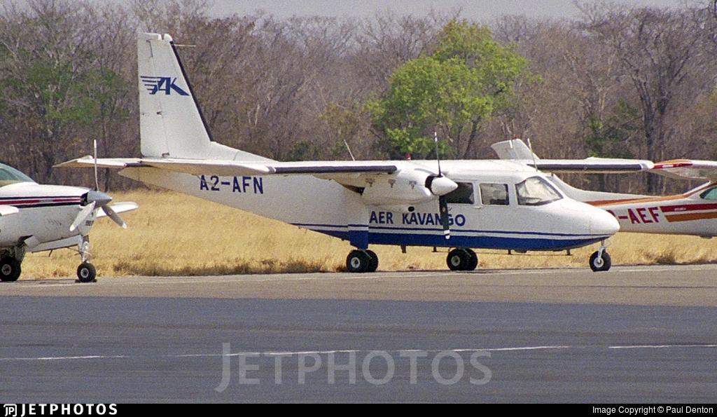 A2-AFN - Britten-Norman BN-2A-21 Islander - Aer Kavango